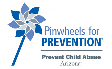 Proudly display Pinwheels for PREVENTION!