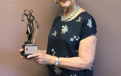 Becky Ruffner Receives the Arizona Bar Association's Terry Chandler Award